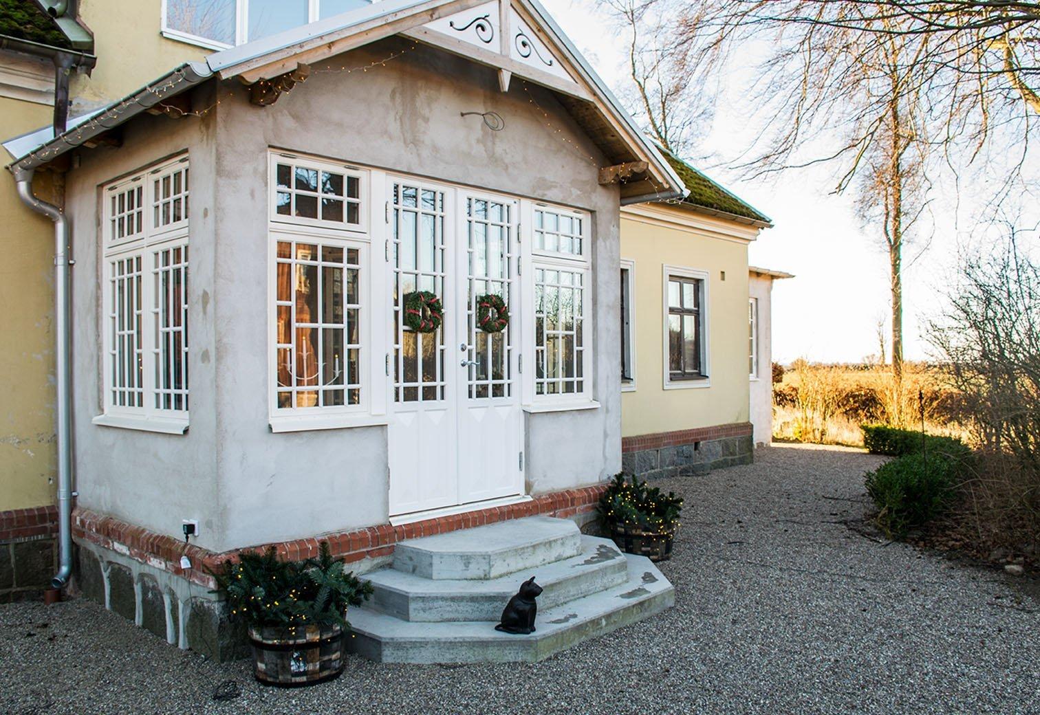 Måttanpassade fönster och dörrar till verandor