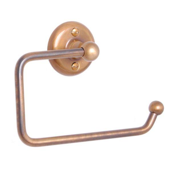 Haga toalettrullehållare i brons