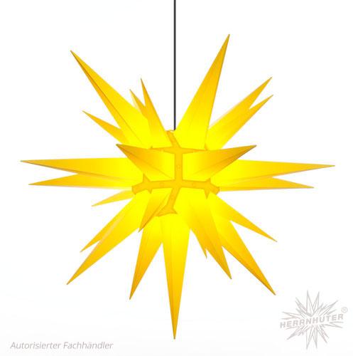 julstjärna utomhus gul
