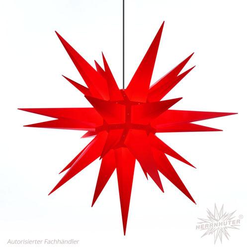 julstjärna utomhus röd