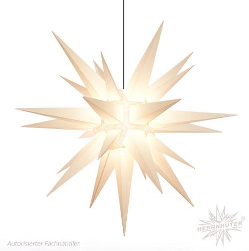 julstjärna utomhus vit