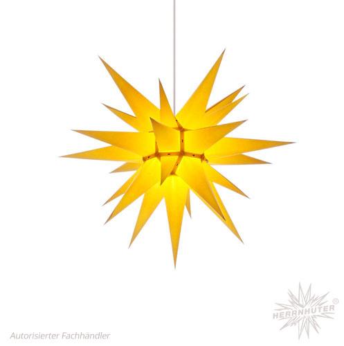 pappersstjärna gul 60 cm
