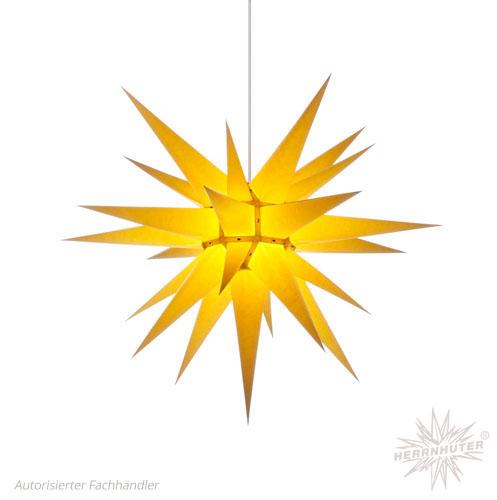 pappersstjärna gul 70 cm