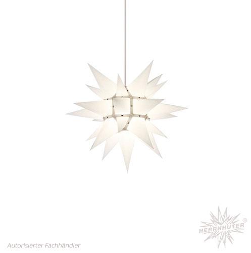 pappersstjärna vit 40 cm