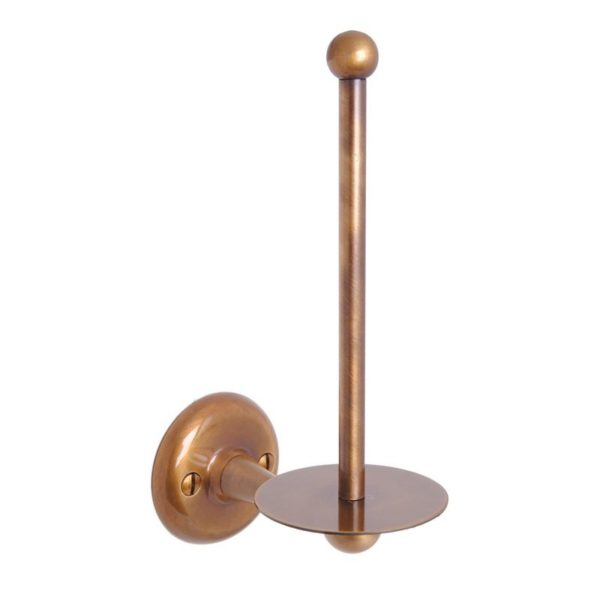 Haga reservpappershållare i brons till badrum